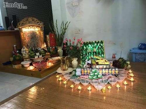 Lễ cúng đầy tháng con trai đậm nét văn hoá truyền thống