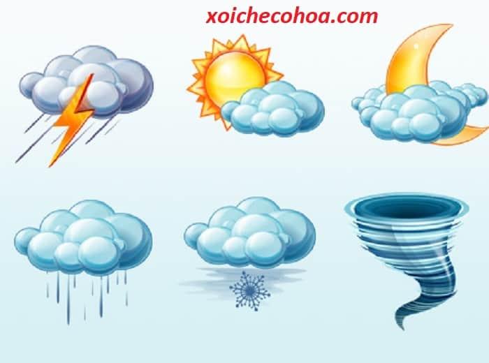 Hình ảnh minh họa thời tiết trong ngày làm lễ cúng động thổ