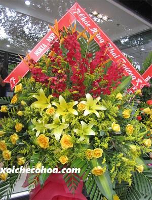 Hình ảnh minh họa hoa được chọn làm quà khai trương