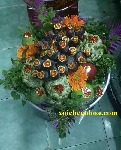 Hình ảnh mẫu mâm quả trái cây đám cưới đẹp mắt