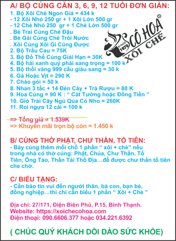 bo le cung can cho be